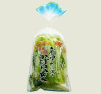 新津さんの野沢菜漬