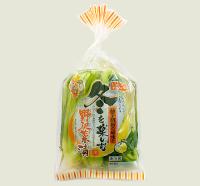 柚子胡椒の風味と冬を楽しむ野沢菜漬